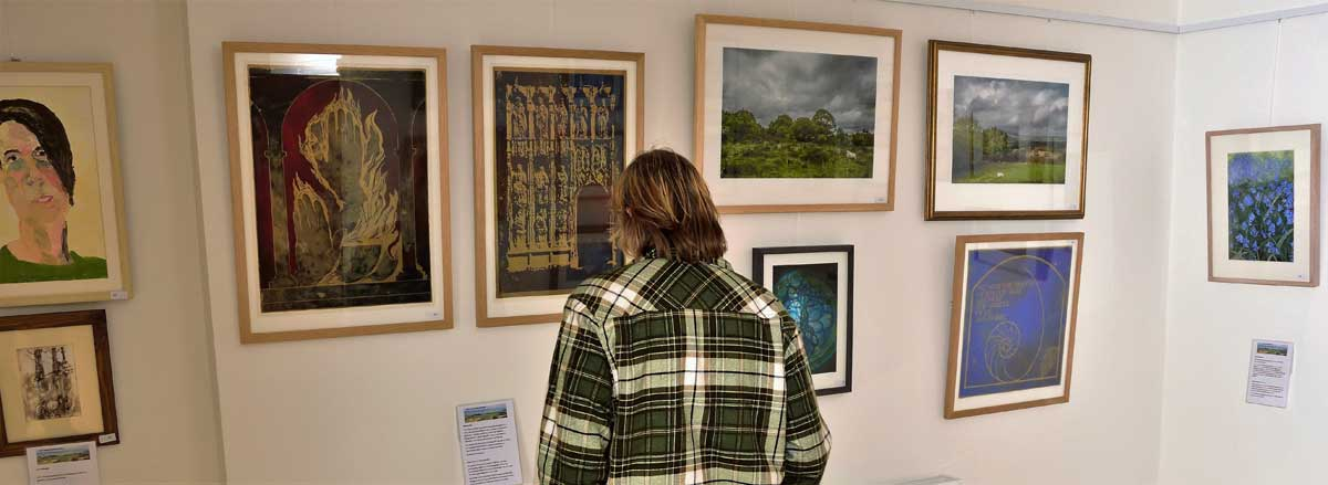 Llanwrtyd Wells art gallery